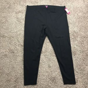 Vince Camuto black skinny stretchy leggings pants